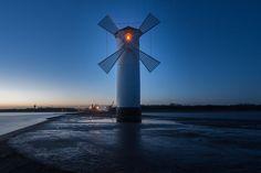 __X__ - *Lighthouse of Swinemünde/ Poland at the Baltic Sea*