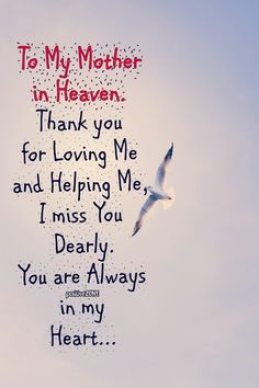 I miss you Mom. Mother In Heaven, To My Mother, Missing Mom In Heaven, Missing Daddy, Loss Of Mother, Mom I Miss You, Thank You For Loving Me, Tu Me Manques, Mother Quotes