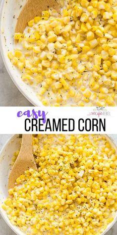 Homemade Creamed Corn - The Recipe Rebel