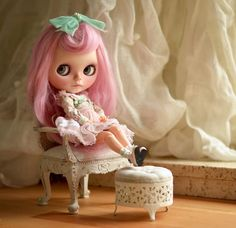 Custom Blythe Dolls sweet as sugar, made with love - http://mapoupeecherie.com
