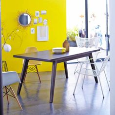 Table en manguier