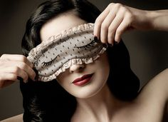Sleep Well With a Dita Von Teese For Moschino Eyemask $189.00