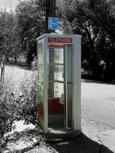 A Phone Booth in the Country