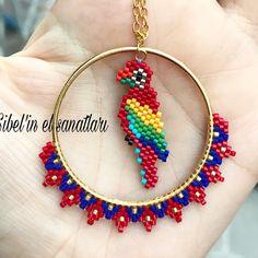 Seed Bead Bracelets, Seed Bead Earrings, Beaded Earrings, Seed Bead Patterns, Beading Patterns, O Beads, Beaded Christmas Ornaments, Beaded Animals, Girls Jewelry