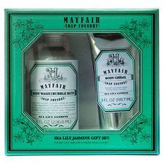 Mayfair Soap Foundry™ Sea Lily Jasmine Gift Set