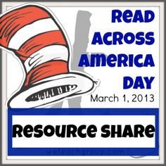 read across america week: resources GALORE!