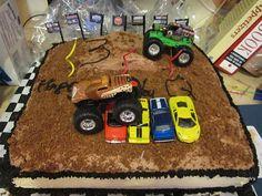 Monster Truck Cake