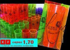 KF copos acrílicos personalizados