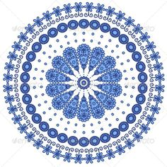 Blue Round Lace #Gra