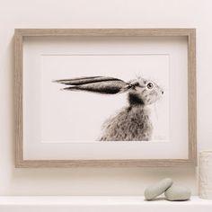 Hare Fine Art Giclée Print 'The Runners Five' - contemporary art
