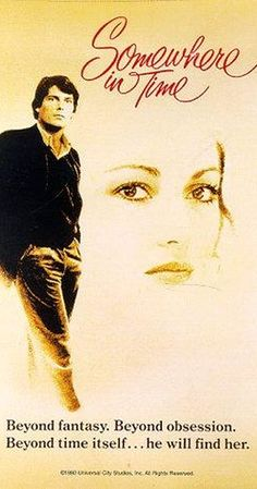 Directed by Jeannot Szwarc.  With Christopher Reeve, Jane Seymour, Christopher Plummer, Teresa Wright. A Chicago playwright uses self-hypnosis to find the actress whose vintage portrait hangs in a grand hotel.