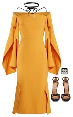 """And I'm giving it my all"" by abbyharshman8 on Polyvore featuring Roland Mouret and Givenchy"