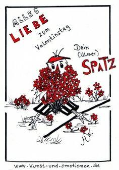 Happy Valentin - alles Liebe zum Valentinstag - www.kunst-und-emotionen.de