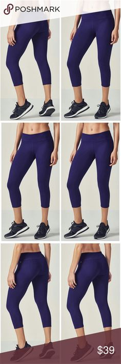 🆕Navy Salar Compression run Capri These Navy Blue compression capris from Fabletics features a smooth,chafe resistant design and maximum support. There is a Convenient hidden pocket at the hip of the waist band to hold your keys and money while you workout! They also feature moisture release to keep you nice and dry. Four way stretch for comfort and movement make these an easy choice for athletic wear. Top rated! Fabletics Pants Capris