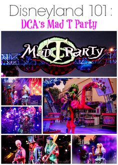 Mad T Party at Disney California Adventure, David & I love whatching the live shows they have, while enjoying some drinks!