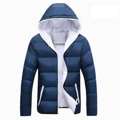 Mountainskin 5XL Men Winter Casual New Hooded Thick Padded Jacket Zipper  Slim Men And Women Coats a5d6ca30ef7