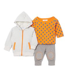 Yellow Polka Dot Shirt Set - Infant