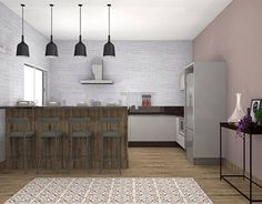 "Check out new work on my @Behance portfolio: ""Cozinha Rústica 