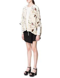 西班牙zara正品女装代购 印花和服2731/052的图片
