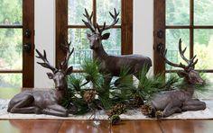 Great Christmas Table Centerpiece, Woodland Centerpiece