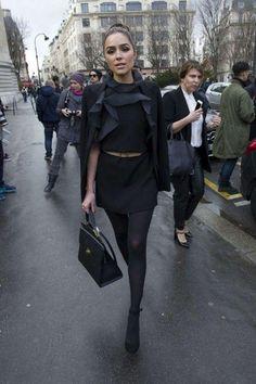 March 7 2016,   #Olivia Culpo wearing   #Balenciaga   Le Dix Zip Cartable Bag from @oliviaculpo's closet