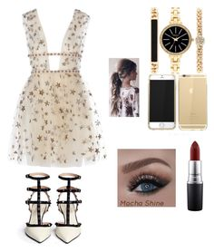 """Untitled #113"" by maryam-abushabab on Polyvore featuring Style & Co. and MAC Cosmetics"