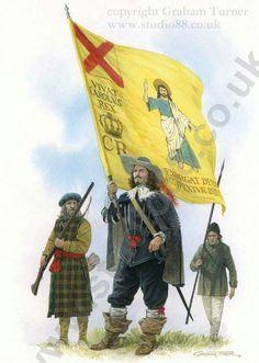 Irish Brigade serving with Montrose's Royalist army in Scotland.