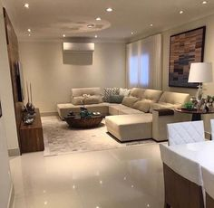 Ideas for wall decored living room modern cozy inspiration Classy Living Room, Living Room Modern, Home Living Room, Interior Design Living Room, Living Room Designs, Ceiling Design Living Room, Home Room Design, House Design, Home Decor