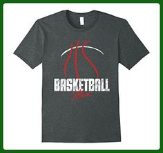 Mens Basketball Mom T-Shirt Medium Dark Heather - Sports shirts (*Amazon Partner-Link)