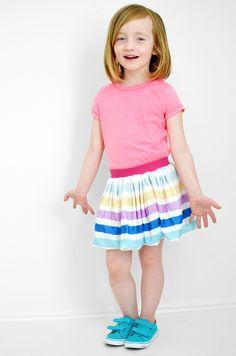 No-Hem Bubble Skirt Tutorial