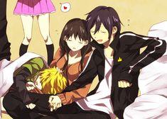"Noragami- ""Iki Hiyori"" ""Yato"" ""Yukine"""