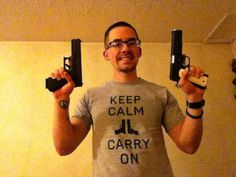 Perfect Keep Calm and Carry On picture!