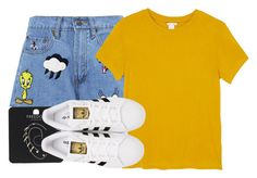 """""""The Final Cut: Denim Shorts"""" by scared-of-happy ❤ liked on Polyvore featuring Paul & Joe Sister, Monki, Topshop, adidas Originals, jeanshorts, denimshorts, cutoffs and polyvoreeditorial"""