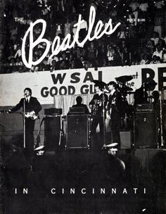 Beatles Cincinnati Commemorative Program (1964).