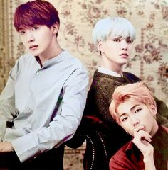J-Hope / Suga / RM😍 | When three masterpieces are together it becomes a MASTERPIECE