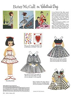 betsy mccall's valentine by julia edna, via Flickr