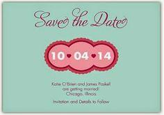 Too Cute Save the Dates #wedding #savethedates #unique