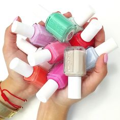One of life's most difficult decisions, is picking out the perfect color for your mani.