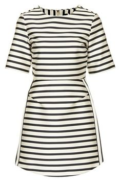Black and white stripes--this will never be outdated!