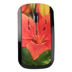 Lush lily wireless mouse - photography gifts diy custom unique special