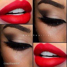 Makeup on We Heart It