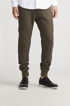 6a498c91e1 Solid Wool Jogger - Of All Threads - Joggers   JackThreads Jack Threads