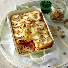 Bietenlasagne met appel en geitenkaas - Deze heerlijke lasagne is nét even wat anders. #recept #oven #JumboSupermarkten