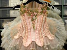 A neat interview with a costumer with upclose photos of costumes!
