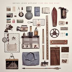 Bryan John Appleby album cover. Design by Jordan Butcher.
