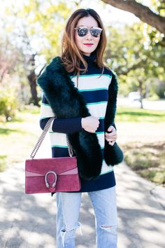 Stylewich by Elizabeth Lee, Fashion Blogger, Outfit Ideas, Style Inspiration, Winter Fashion, Dior Reflected Sunglasses, Gucci Dionysus Bag