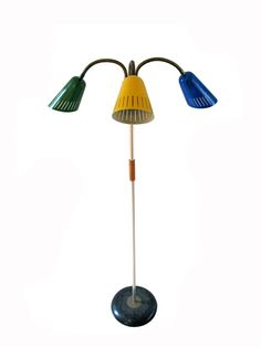 3 Colour Shade Lamp