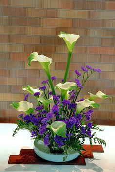 floral arrangement ~ JP: Ikebana @ Daimaru Shinsaibashi 3
