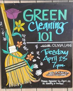 Olivia Cleans Green: Green Cleaning Essentials Shopping List