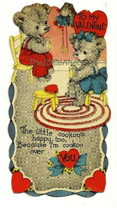 1940's Valentine To My Valentine The Little by TheIDconnection, $18.00